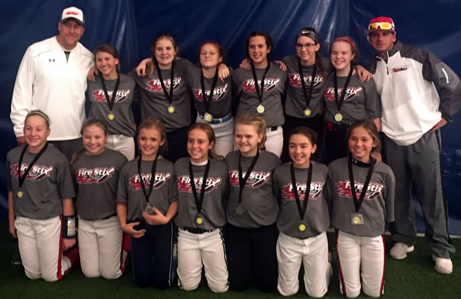 12u Runner Up at Spooktacular - Genesee Fieldhouse