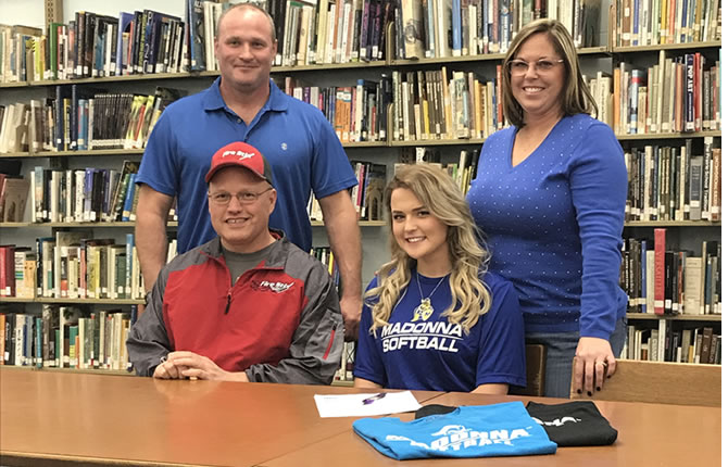 Jenna Gilbert Commits to Madonna University