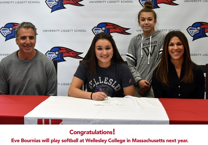 Eve Bournias Commits to Wellesley College