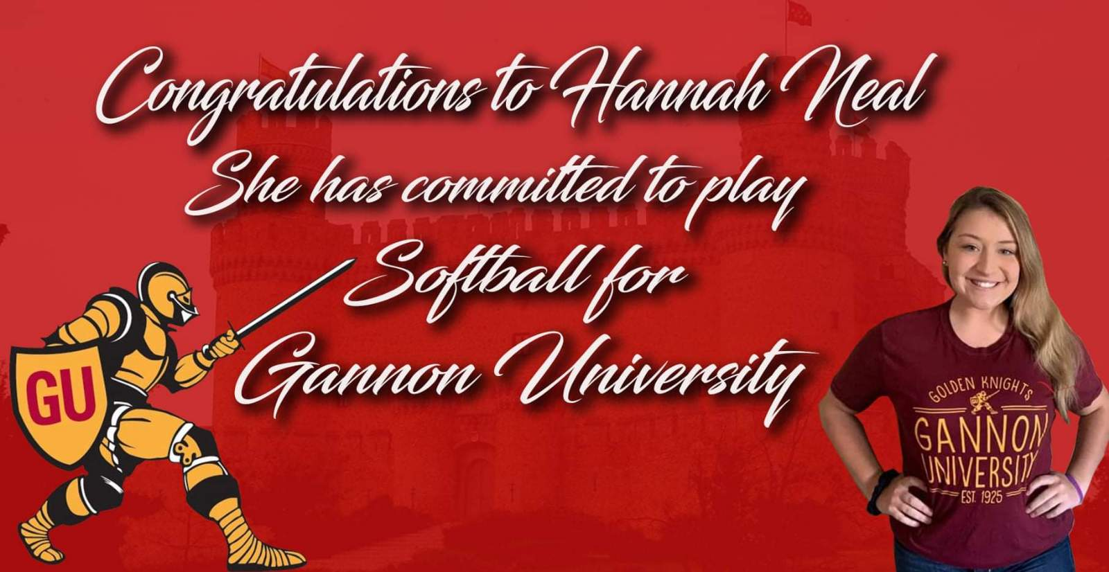 Hannah Neal Commits to Gannon University