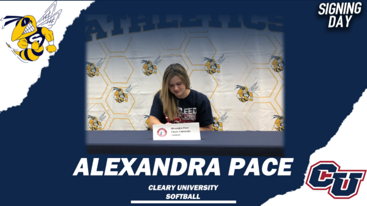 Alexandria Pace Commits to Cleary College