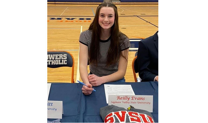 Reilly Evans commits to SVSU