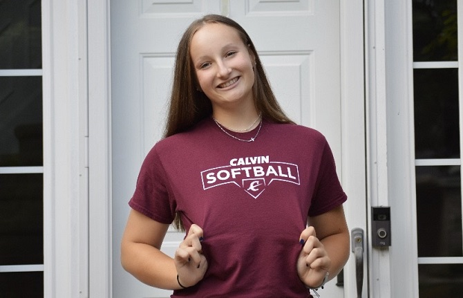 Taylor Sanborn Commits to Calvin College