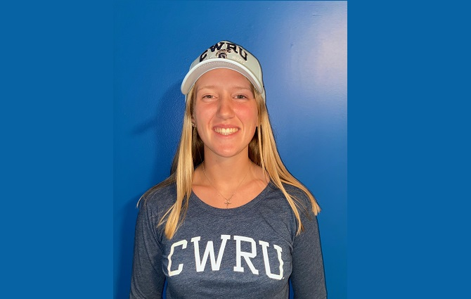 Julia Zucks Commits to Case Western Reserve